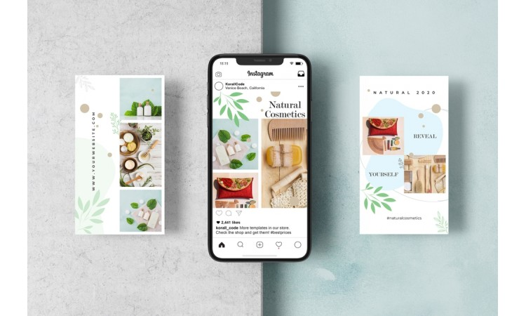 Cosmetics Instagram Story Templates