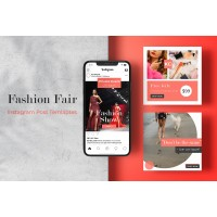 Fashion Fair Instagram Post Templates