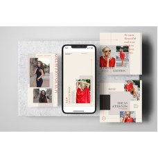 Fashion Posts and Stories Instagram Templates