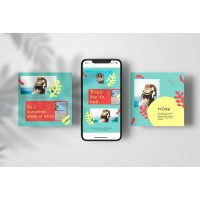 H-day Instagram Story Template