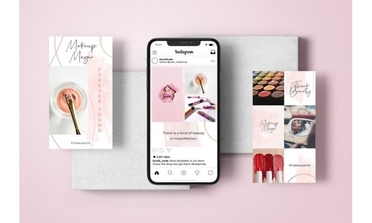 Makeup Instagram Story Templates